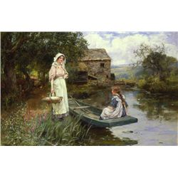 Henry John Yeend King Afternoon Picnic Art Print