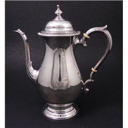 Kent Sterling Silver Teapot Vintage Hallmarked 1501