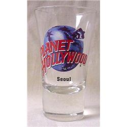 Planet Hollywood Seoul Korea Original Shot Glass