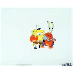 SpongeBob Animation Art Cel Original Show You Mr Krabs