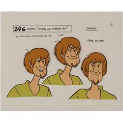 Shaggy Scooby Doo Original Model Cel Animation Art