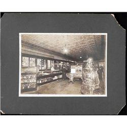 Antique Albumen Photograph General Store w/Stoves