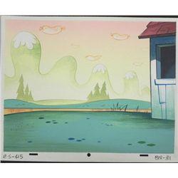 Ren & Stimpy Original Production Background Art Weiners