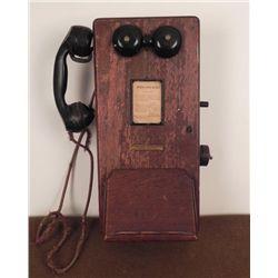VINTAGE STROMBERG-CARLSON MAGNETO WALL PHONE