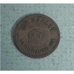 Civil War Store Card Chicago Harlev Trunks, Clothing