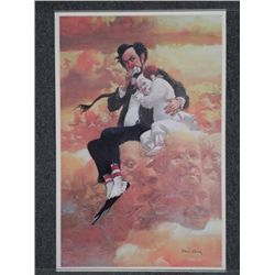 Robert Owen Clown Print -Friendship