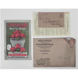 1927 R.M. Kellogg Strawberry Growers Booklet Vintage