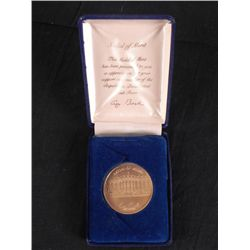 George Bush Republican Task Force Medal of Merit In Box