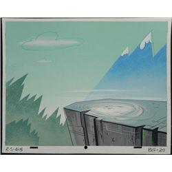 Ren & Stimpy Orig Production Background Wiener Barons