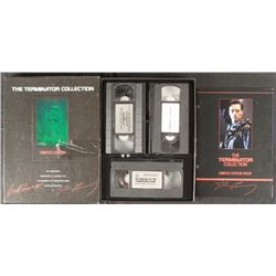The Terminator Collection LTD ED Box Movies, Book