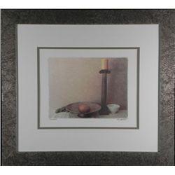 Judy Mandalf Still Life Art Print -Sideboard, Framed