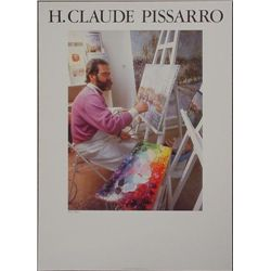 H. Claude Pissarro Modern Impressionist Art Poster