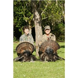 3-day Rio Grande Turkey Hunt in Oregon for Two Hunters