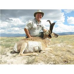 2-day Utah Pronghorn Hunt for One Hunter and One Observer
