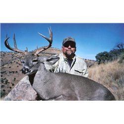 5-day Mexico Coues Deer Hunt for One Hunter