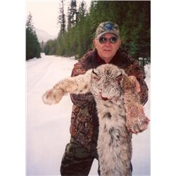 5-day British Columbia Trapline Adventure for One Hunter
