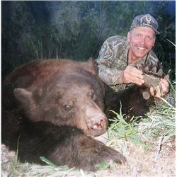 6-day British Columbia Black Bear and Wolf Hunt for One Hunter