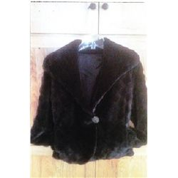 Sheared Beaver Short Jacket