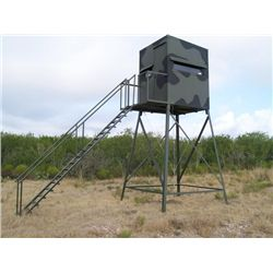 5x5, 10-ft. Atascosa Tower Blind with luxury package