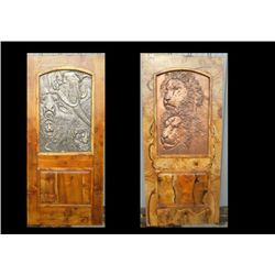 Myrtle Door with Artistic Panels