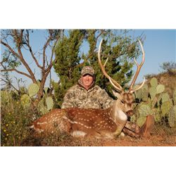 3-day Texas Trophy Axis Deer Hunt For One Hunter and One Non-hunter
