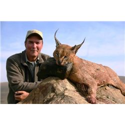 7-day South Africa Kudu and Small Cats Hunt for One Hunter and One Observer