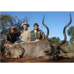 7-day South Africa Plains Game Hunt with $3,000 in Trophy Fees for One Hunter and One Observer