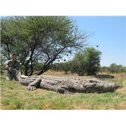 7-day South African Sable and Crocodile Hunt for Two Hunters and Two Observers