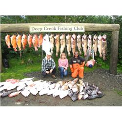 5-day Alaska Salmon and Halibut fishing trip for Two Anglers