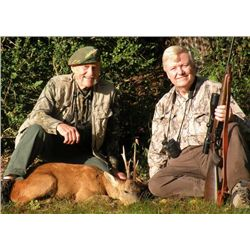 3-day France Roe Deer Hunt for One Hunter and One Observer
