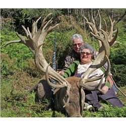 5-day New Zealand Red Deer up to 380 SCI for One Hunter and One Observer