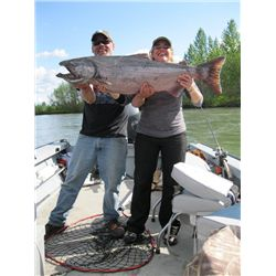 5-night/6-day Alaska Fishing Adventure for Four Anglers