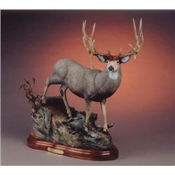 Mule Deer Sculpture