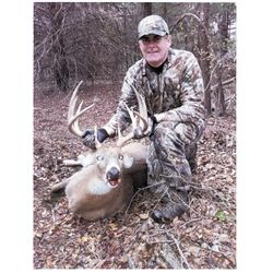 3-day Oklahoma Mid-western White-tailed Deer Hunt for One Hunter and One Observer
