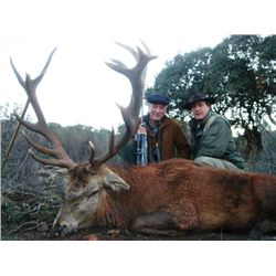 5-day Spanish Red Deer Hunt for One Hunter and One Observer