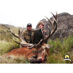 5-day Argentina Silver-Medal Red Stag Hunt for One Hunter and One Observer