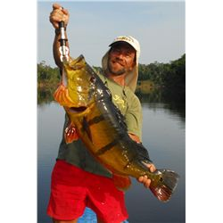 7-day Amazon Peacock Bass, Payara, Bicuda, Wolfish and Giant Catfish Adventure for One Angler