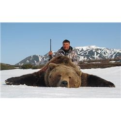9-day Kamchatka Brown Bear Hunt for One Hunter