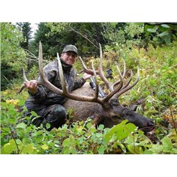 6-day British Columbia Rocky Mountain Elk and Mule Deer Hunt for Two Hunters