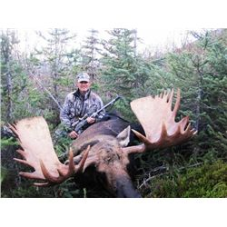 10-day British Columbia Western Candian Moose Hunt for One Hunter