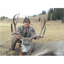 5-day Wyoming Rocky Mountain Elk or Mule Deer Hunt for One Hunter