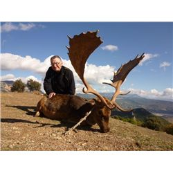 5-day Spain Fallow Deer Hunt and Sightseeing Adventure for One Hunter and One Observer