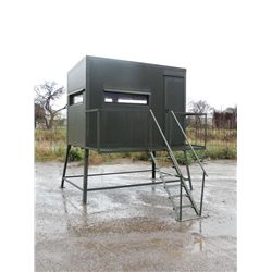 5x9, 4-ft. Atascosa Tower Blind in Game Guard With Luxury Package