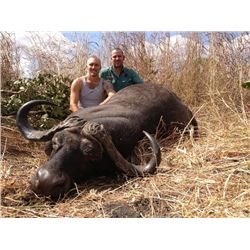 7-day Tanzania Cape Buffalo Hunt for One Hunter and One Observer
