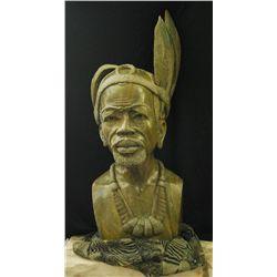 Carved Shona Chieftain