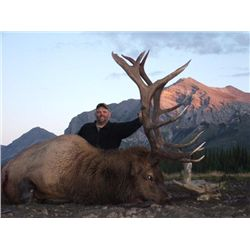 7-day British Columbia Elk or Goat Hunt and Spa Package for One Hunter and One Guest