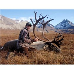 6-day Alaskan Barren Ground Caribou Hunt for One Hunter