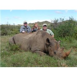 7-day South Africa Black Rhino Vita-Dart and Sable Hunt for One Hunter and One Observer