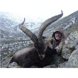 5-day Spain Southeastern Ibex Hunt for One Hunter and One Observer