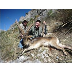5-day Spanish Ronda Ibex Hunt for One Hunter and One Observer